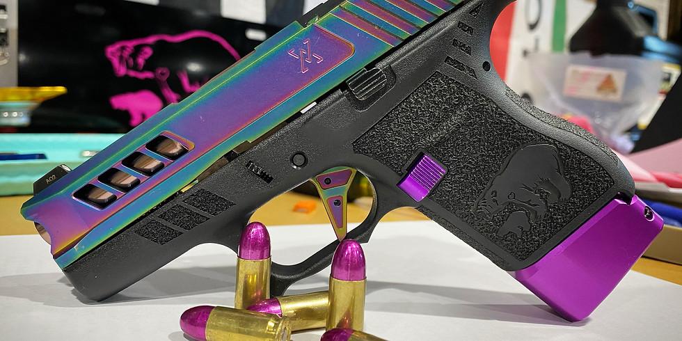 Handgun cleaning - Brigham City