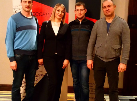 14 декабря в Волгограде прошла школа тромбоза