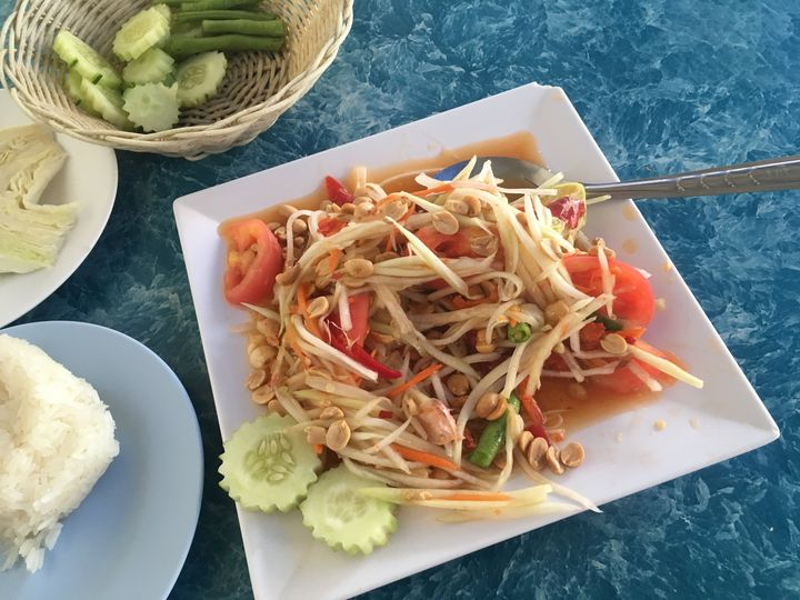 Favorite- Papaya Salad, Krabi, Thailand