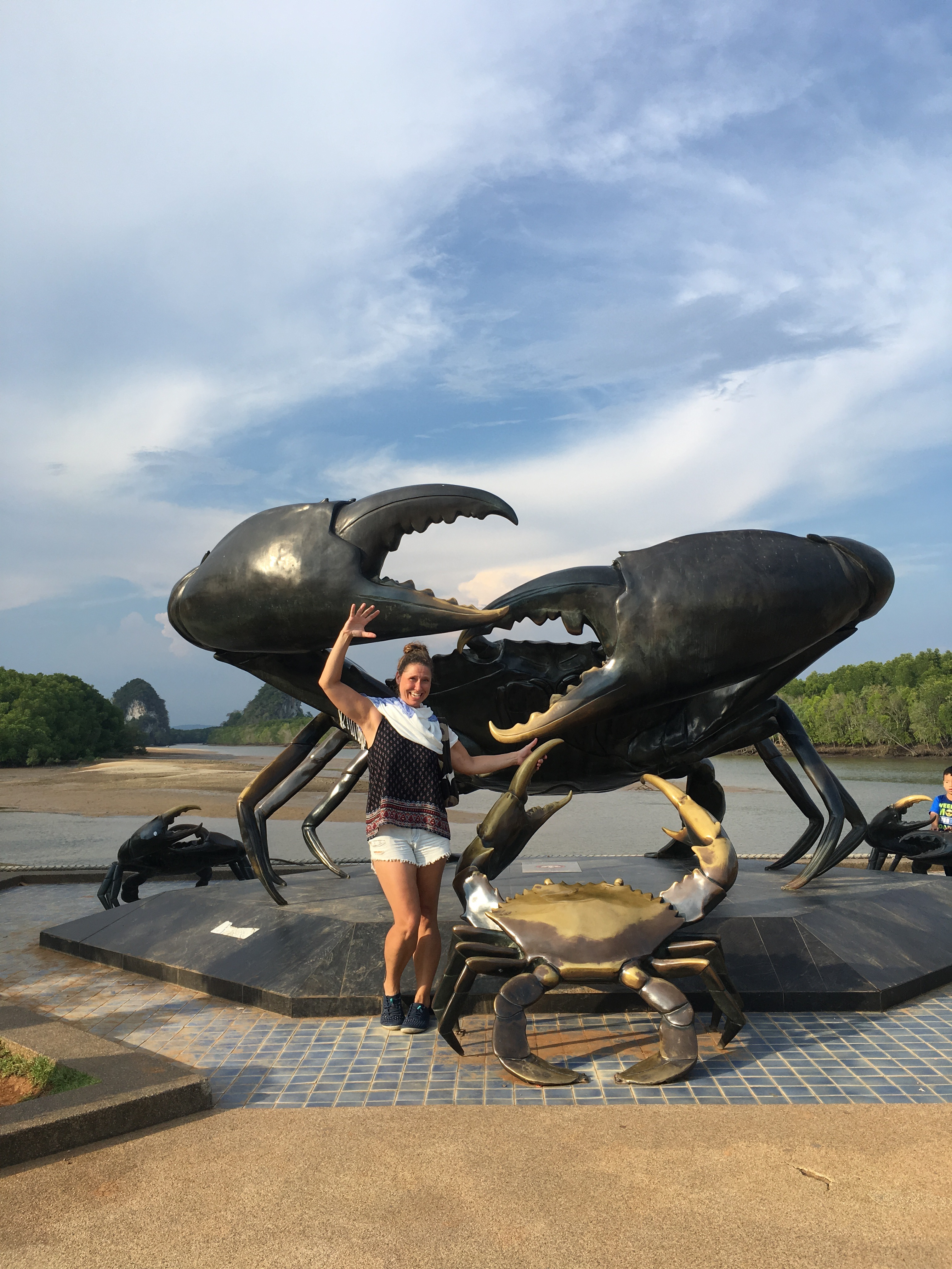 Crab in Krabi
