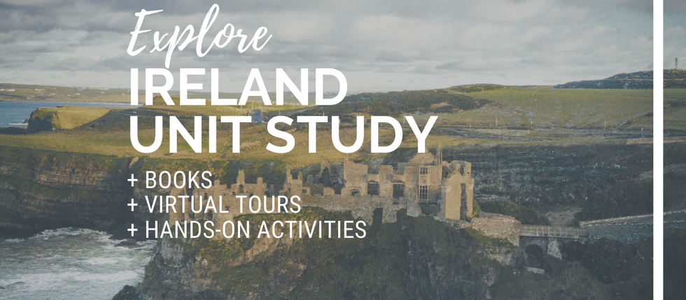 At-Home Adventures: Ireland Unit Study for Kids