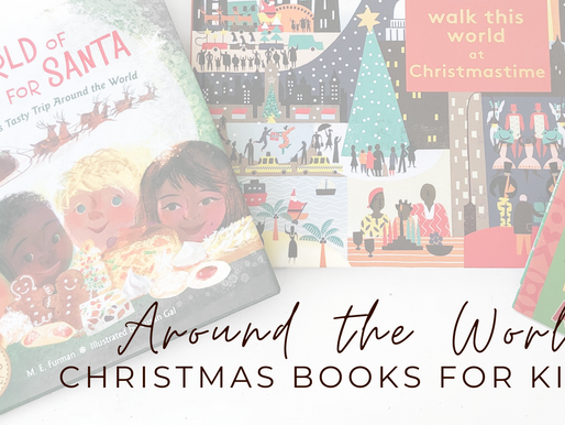 Around the World Christmas Books for Kids