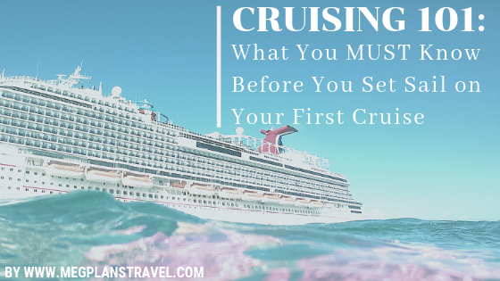First time cruise tips