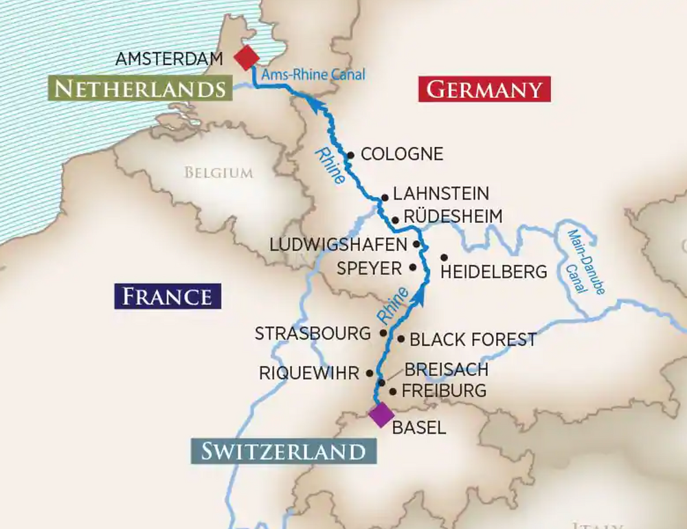 River Cruise Itinerary