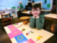 Montessori school, NJ, practical life skills, art