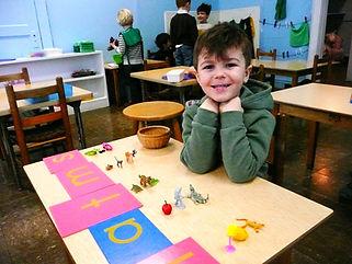 Montessori school, NJ, practical life skills, art