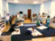 Best Montessori, NJ, clean bright classroom