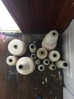 Warping Yarn