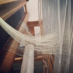 Fine cotton warp 2/60