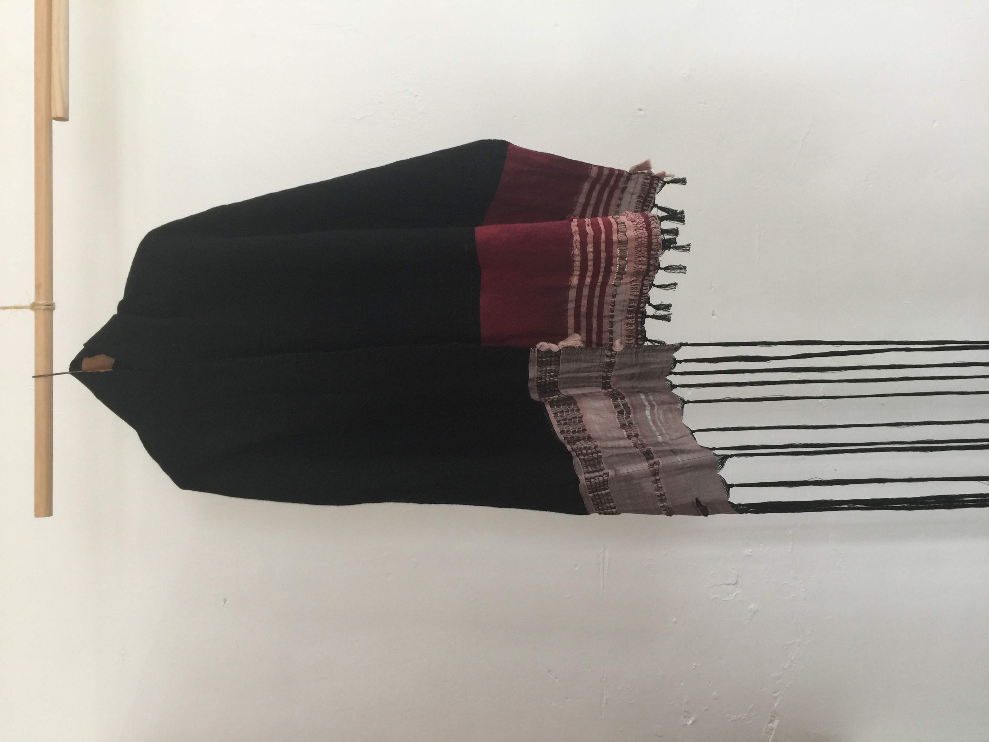 Natural quebracho dyed weave