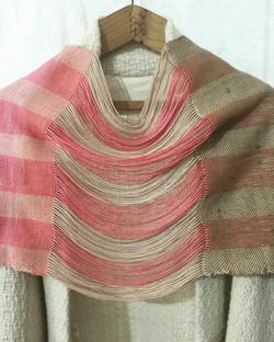 Wool and silk shawl
