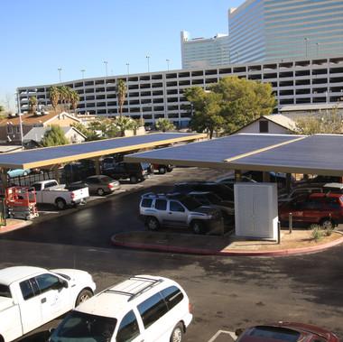 City of Las Vegas - Solar Covered Parking