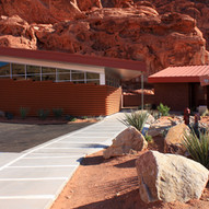 Valley of Fire Administration Building and Restroom