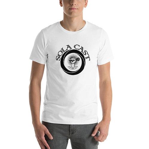 Sola Cast Logo (black) Short-Sleeve Unisex T-Shirt