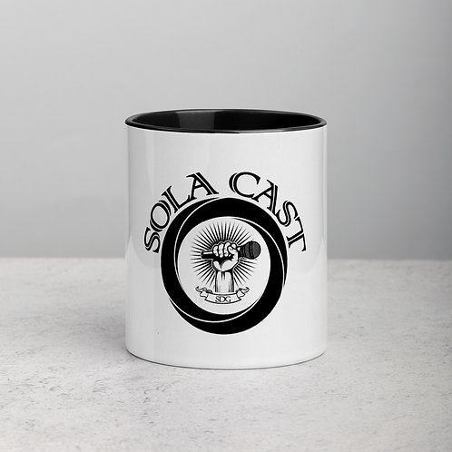 Sola Cast Logo Mug with Color Inside
