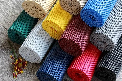 StayPut Non-Slip Fabric Roll - 50.8 x 182.9cm - Black