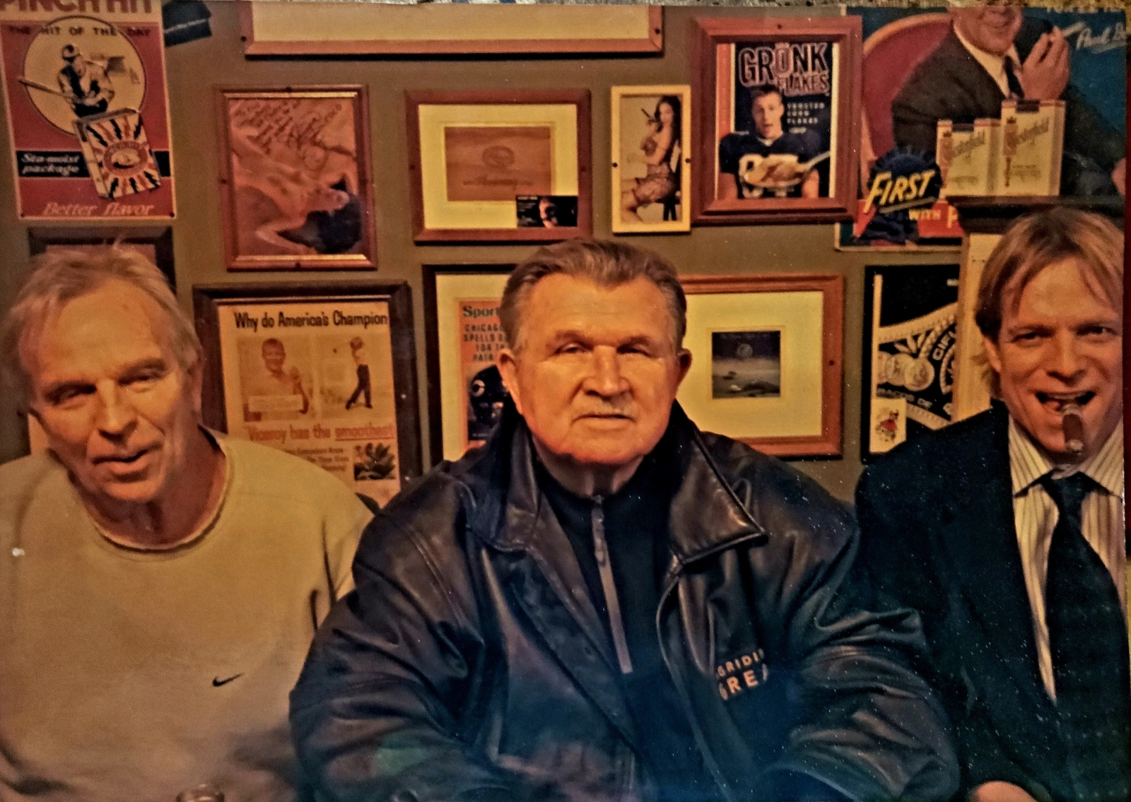 Mike Ditka & Eric