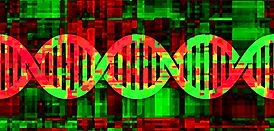 Helomics heat map DNA