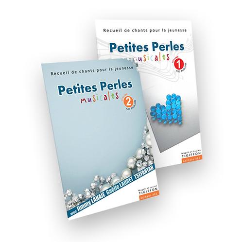 Pack Petites Perles Musicales, volumes 1 et 2, Livres-CD