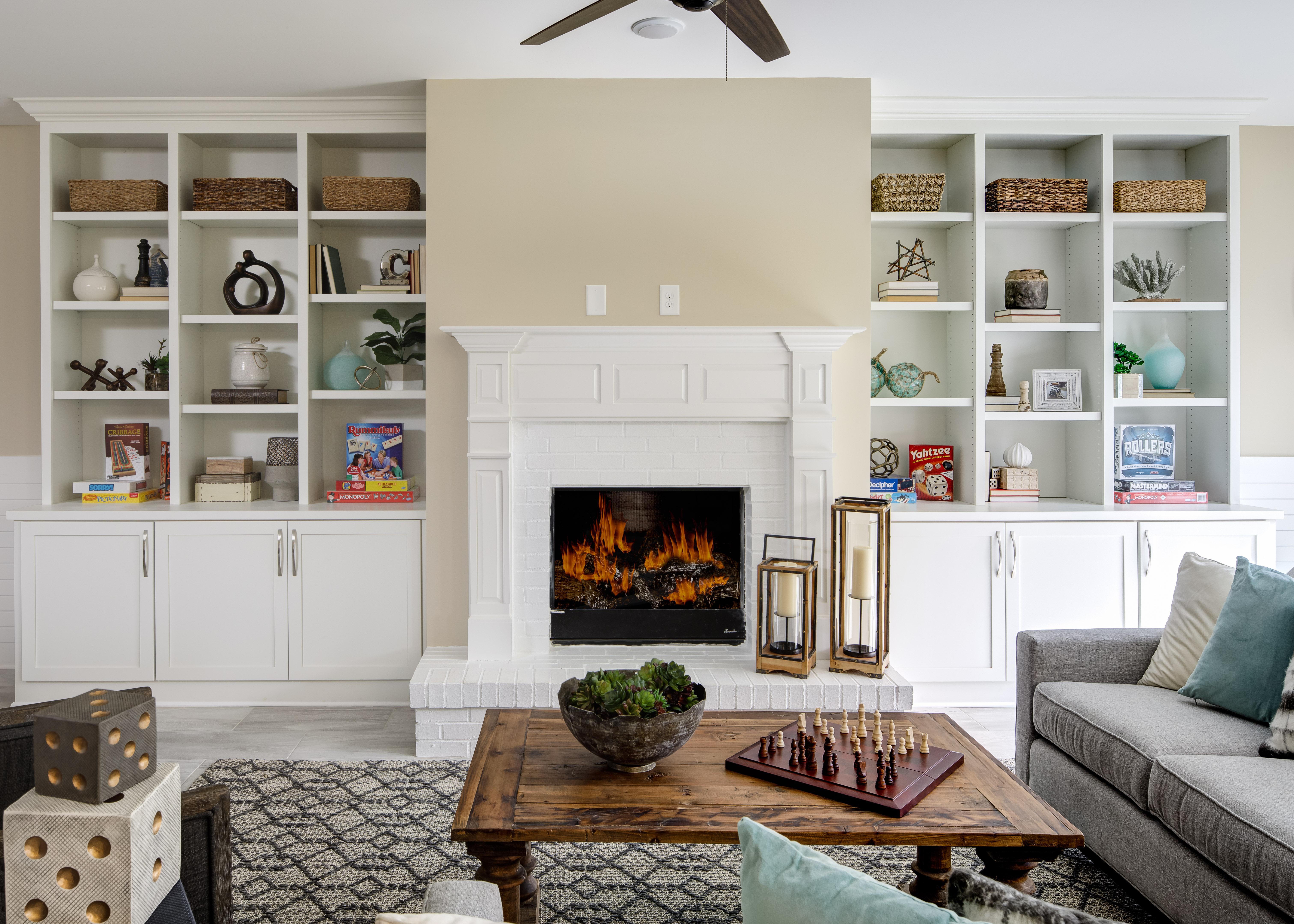 Oakside Basement Great Room
