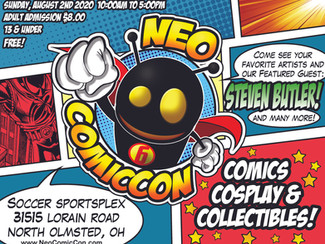 Hello my friends! I will once again be be playing a part for Neo ComicCon this year. This convention