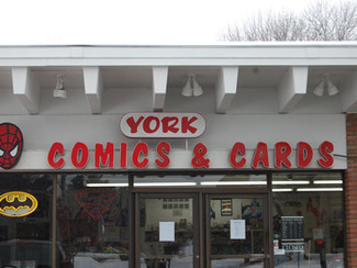 York Comics & Cards (Parma Hts.) Is Closing