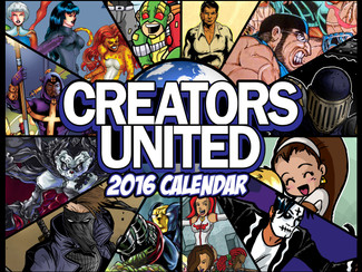 Creators United 2016 Calendar: Now Available!