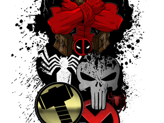 Deadpool Tattoo Commission