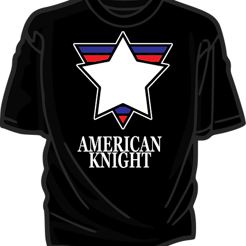 AMERICAN KNIGHT T-SHIRT
