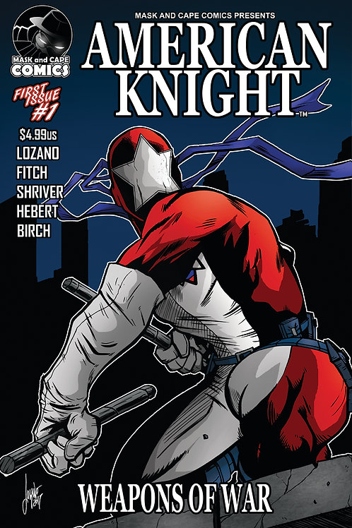AMERICAN KNIGHT ISSUE #1 (RETAIL)