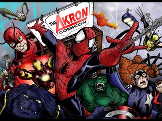 Countdown to Akron Comicon Has Begun