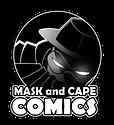 Mask and Cape Comics logo