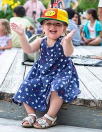 Little girl at HarbourFest