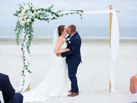 Stafford-Ryan Wedding: A Rescheduled 2020 Dunes House Wedding
