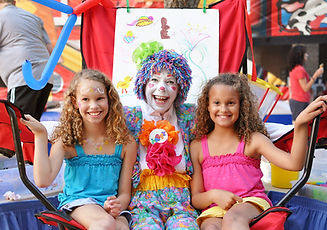 Cappy the Clown at Harbourfest Hilton Head