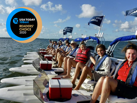 Bluewater Adventure Hilton Head named #2 Best Boat Tour in USA TODAY
