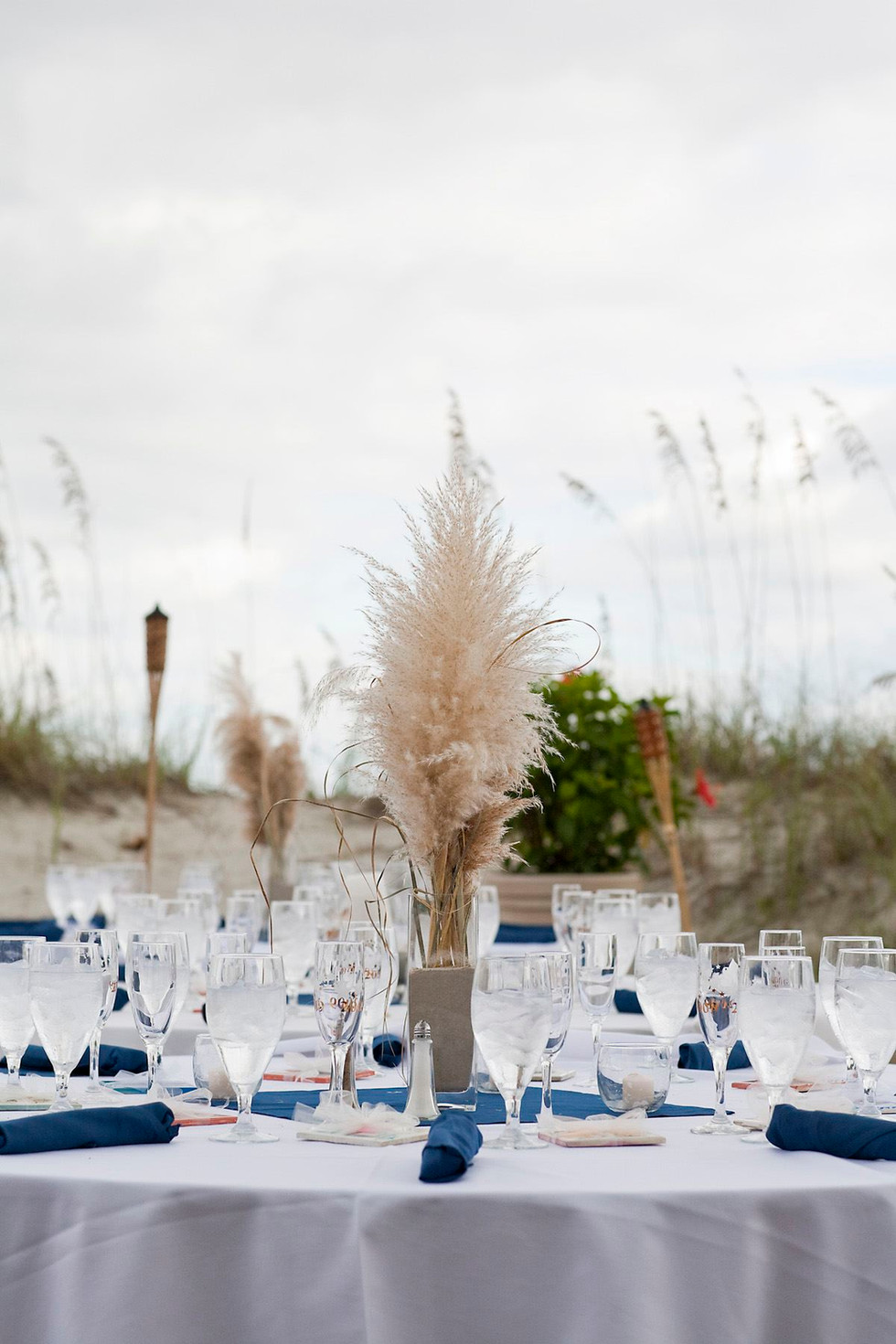 Table Setting at The Dunes House