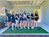 Women Golfers at Toptracer Range