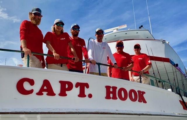 Hilton Head Island Capt. Hook Party Fishing Boat Crew Members