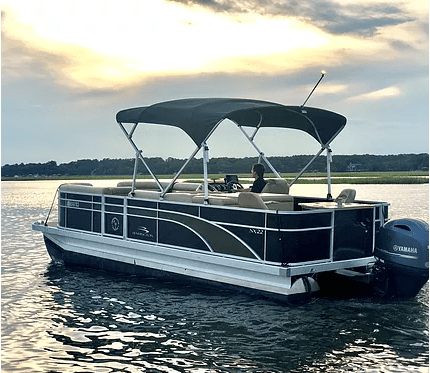 Shelter Cove Hilton Head Luxury Pontoon Rental