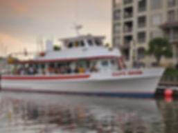 Captain Hook Cruise Boat Docked
