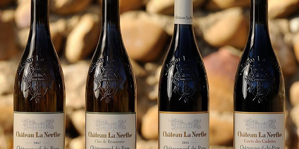 Chateau La Nerthe Wine Dinner