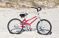 24 inch kids beach bike