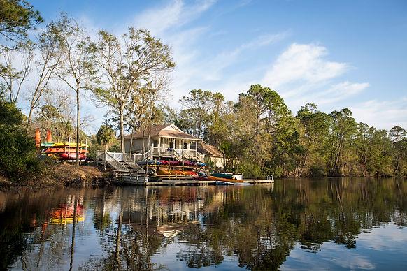 kayak rental shop near water