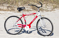 26 inch mens beach bike