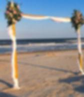 Arbor on beach