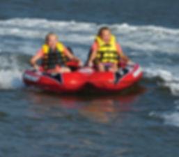 Waterskiing at Shelter Cove Marina
