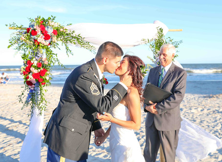 A Dunes House Beach Wedding: Justin & Serina