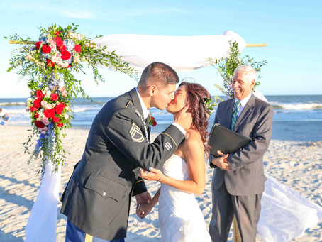A Dunes House Beach Wedding: Justin & Serina