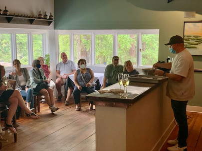 Cooking Demonstrations at Alexander's Restaurant this Summer